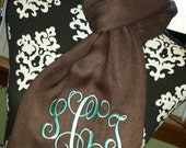 Elegant, Fashionable, Soft, Stylish Scarves In Many Colors- Monogramming Included