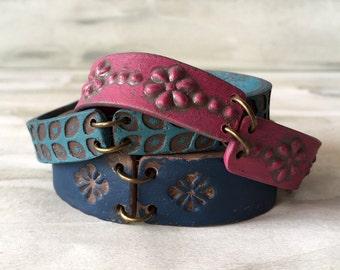 Yoga Bracelet, Cool Summer Wrap bracelet, Layered, Leather inspired, alternative Bangles, SouthWestern, Santa Fe, Colorful, Boho, Friendship