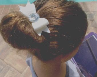 Two hair bows / mix and match hair bows / felt hair clips for girls / kawaii cute accessories