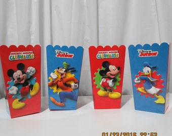 Mickey Mouse Clubhouse Snack Boxes (Set of 8)