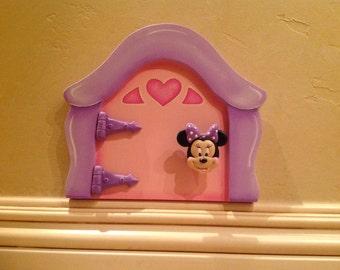"""Minnie Mouse Mini Door. 8 1/4"""" x 7 1/4"""" x 1 3/8"""""""