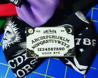 Ouija board hairbow