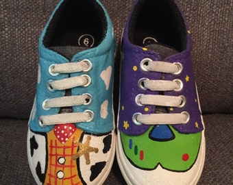 Custom Toy Story Shoes