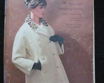 1960 Fall/Winter WARDS (Montgomery Wards) CATALOGUE