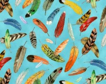 Elizabeth's Studio - Birdwatching - Feathers - Blue