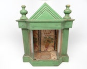 RESERVED LISTING for SUE-----------------Early 1900's Nicho Altar Shrine