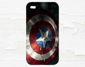 Captain America Cell Phone Case - iPhone Case - iPod Touch 5 Case - Samsung Galaxy Case