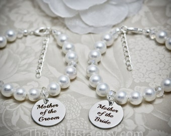 Matching Mother of the Bride and Mother of the Groom Bracelets, Mother of the Groom Bracelet , Mother of the Bride Bracelet, MOG11-MOB11