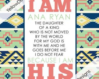 I AM HIS- Tribal (PDF)