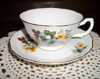 Vintage Royal Grafton Tea Gift Set, Tea Set, Vintage Tea Set, Tea Cup, Vintage 1920's