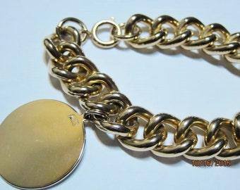 Vintage Coro Pegasus Charm Bracelet Germany