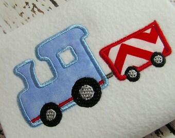 Applique train machine embroidery design, appliqué Thomas train, Appliqué train design, embroidery train, embroidery design instant download