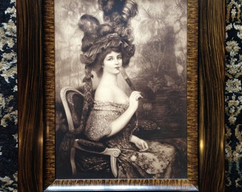 Vintage Marie Antoinette Picture