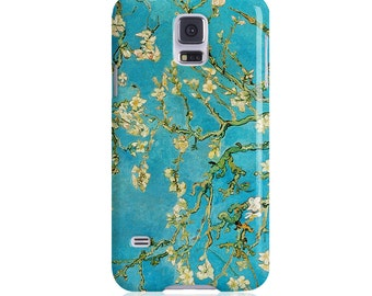 """S8, S8 PLUS Case, Van Gogh, Almond Blossoms Phone case for Samsung Galaxy S6, S6 Edge, S7, S7 Edge """"Branch of an Almond Tree in Blossom"""""""