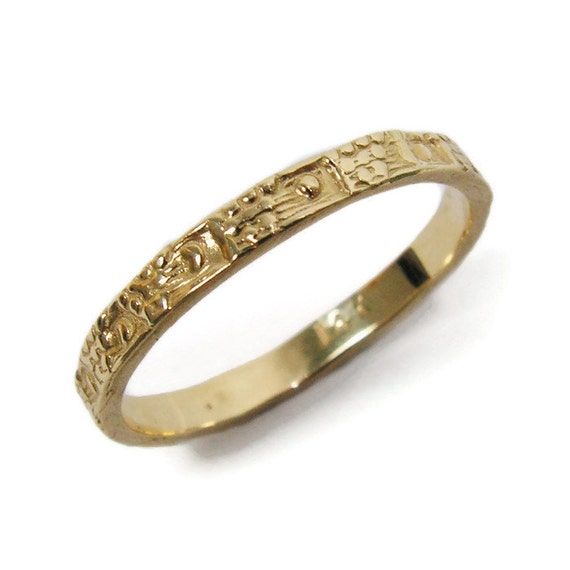 moroccan wedding ring yellow gold ring tribal by With moroccan wedding rings
