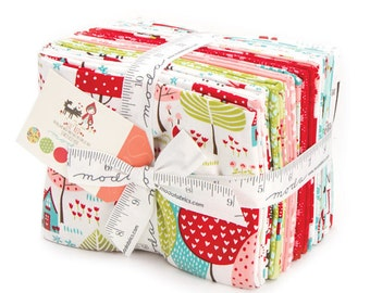IN STOCK NOW - Lil' Red - Stacy Iset Hsu for Moda - Fat Quarter Bundle