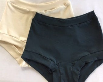 High-Top Organic Wonderpants For Women - Truly comfortable underpants.