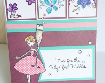 Birthday or Celebrate any occasion with Big Girl Bubbles