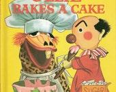 Burr Tillstrom's Ollie Bakes a Cake Vintage Wonder Book by Jean Bethell Illustrated by Nancy Meyerhoff