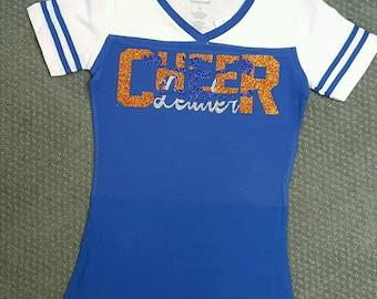 Cheerleader V-Neck Tshirt
