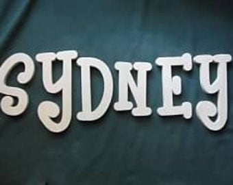Custom Personalized Wood Name Sign