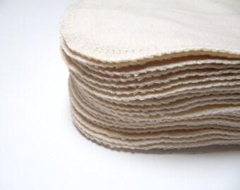ORGANIC Reusable Cloth Wipes, 30 ORGANIC Cloth Diaper Wipes, Organic Family Cloth, Organic Flannel Cloth Wipes, ORGANIC
