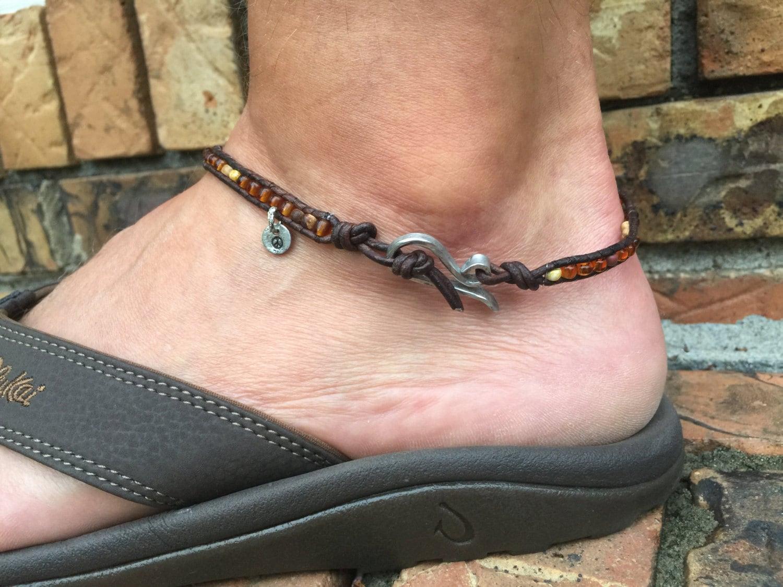 Men S Ankle Bracelet