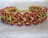 Bracelet Racer X Aluminum Chain Maille Jewelry