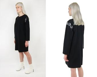 YVES SAINT LAURENT Rive Gauche Wool Dress