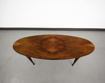 Scandinavian Mid Century Surfboard Coffee Table Made in Norway Danish