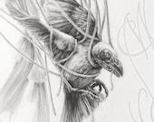 "RESERVED for Julien - Martinefa's original drawing - ""Depressio"""