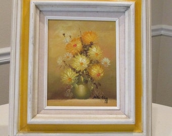 MOVING SALE Original Oil Painting by Hilda Clegg Complete With Frame