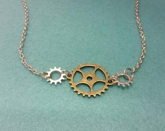 Sprocket Necklace