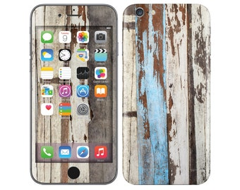 WOOD TEXTURE iPhone Decal iPhone Skin iPhone Cover iPhone 6 Skin, iPhone 6 Plus Decal iPhone 6S iPhone 6S Decal Cover iPhone 5 5S