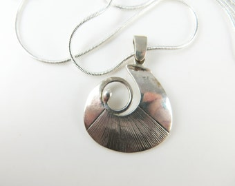 Clearance - Sterling silver pendant necklace
