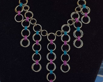 Japanese Chainmaille Necklace