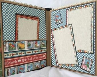 Baby Album, Premade Scrapbook by Island Lilly Designs