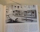 1968 HUGE Midcentury Modern Interior Decoration Book Inside Today's Home Ray & Sarah Faulkner Stage Design Mid Century Decor
