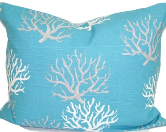 coral pillowsblue lumbar pillow coverblue cushion