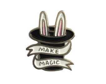 Make Magic Enamel Pin Badge