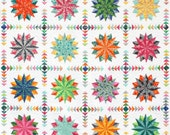 Harlequin Stars Quilt Pattern PDF by Emma Jean Jansen - Immediate Download