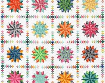 Harlequin Stars Quilt Pattern PDF by Emma Jean Jansen - Immediate Download