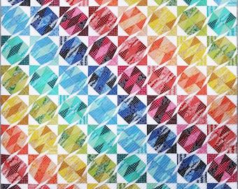 Gemstone Tumble Quilt Pattern PDF by Emma Jean Jansen - Immediate Download