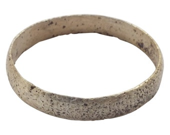 Authentic Ancient Viking Ring Wedding Band  C.900A.D. Size 8 1/2   (19mm)[PWR1051]