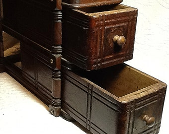 Two Sewing Machine Drawers