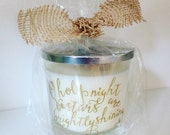 O Holy Night Vanilla Scented Jar Candle- 12oz