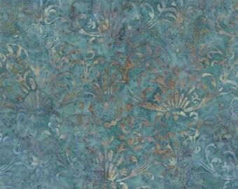 Blue Barn Vintage Lace Twilight Batik by Laundry Basket - Moda - 1 Yard