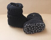 Baby Girl Boots, Crochet Baby Booties, Baby Girl Uggs,  Newborn Baby Girl