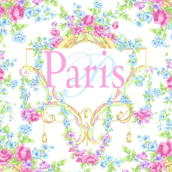 Paris wall decor french rococo style decor paris by for What is the other name for the rococo style