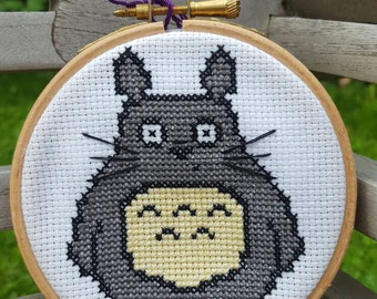 Totoro Cross-stitch Kit
